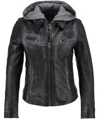 Oakwood Veste en cuir noir