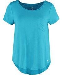 Hollister Co. MUSTHAVE Tshirt imprimé turquoise