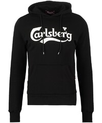 Carlsberg Sweat à capuche nero/panna