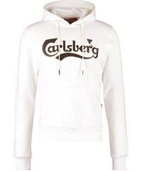 Carlsberg Sweat à capuche panna/nero
