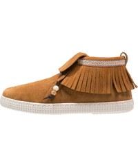 Victoria Shoes Boots à talons cognac