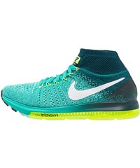 Nike Performance ZOOM ALL OUT FLYKNIT Chaussures de running neutres clear jade/white/midnight turquoise