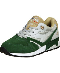 Diadora N9000 Double L chaussures gray violet/green/sand