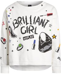 Replay Sweatshirt chalk