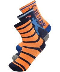 GAP 3 PACK Chaussettes white/orange