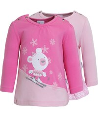 Gelati Kidswear 2 PACK Tshirt à manches longues hellrosa/rosa