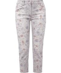 Zerres CARLA Comfort Fit 5-Pocket-Jeans mit Allover-Muster