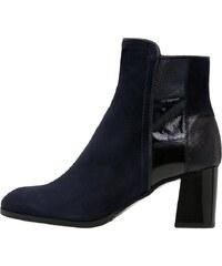 Maripé Boots à talons blu scuro