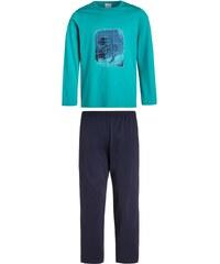 Schiesser Pyjama türkis
