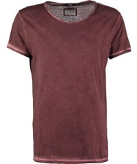 Tigha WREN Tshirt basique vintage oxford red