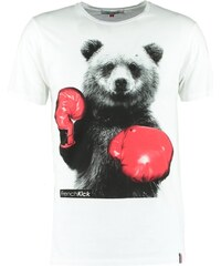 French Kick Tshirt imprimé white