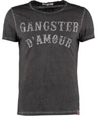 French Kick Tshirt imprimé black