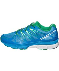 Salomon X SCREAM FOIL Chaussures de running process blue/union blue/real green