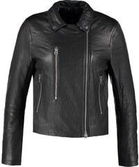 Topshop BOUTIQUE ULTIMATE Veste en cuir black