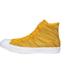 Converse Baskets montantes gelb/weiß