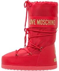 Love Moschino Bottes de neige rosso