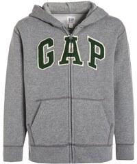 GAP Sweat zippé grey heather