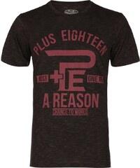 PLUS EIGHTEEN Tshirt imprimé khaki