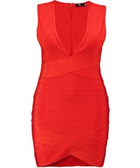 Missguided Plus Robe fourreau red