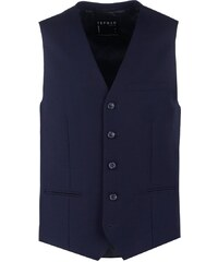 Topman Gilet de costume dark blue