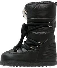 Versace Bottes à lacets nero
