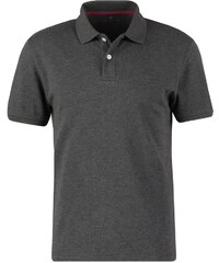 TOM TAILOR REGULAR FIT Polo dark grey melange