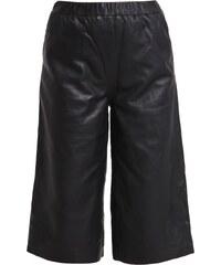 Moss Copenhagen CIRA Pantalon en cuir black
