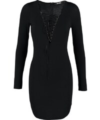 Missguided Robe en jersey black