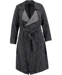 New Look Curves Trench mid grey