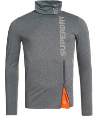 Superdry GYM SPORT Tshirt à manches longues grey grit