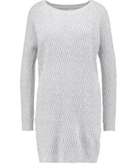 Vero Moda VMPOSH Robe pull light grey melange