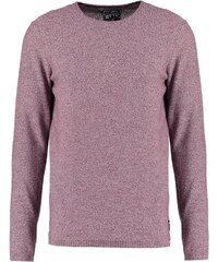 TOM TAILOR DENIM Pullover deep burgundy red