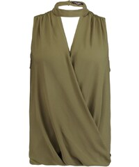 New Look Curves Blouse dark khaki