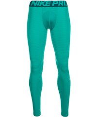 Nike Performance PRO WARM Caleçon long teal charge/midnight turquoise/white