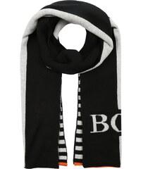 BOSS Kidswear Schal gris/noir