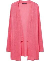 Violeta by Mango HONEY Gilet bubblegum pink