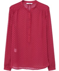 Mango Blouse cherry