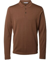 Selected Homme Polo camel