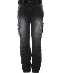 Schott NYC BATTLE Pantalon cargo schwarz