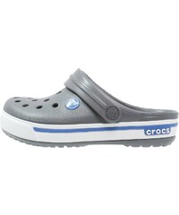 Crocs CROCBAND Mules charcoal/sea blue