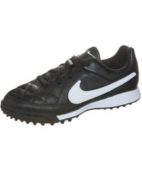 Nike Performance TIEMPO GENIO TF Chaussures de foot multicrampons black/white