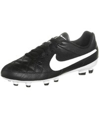 Nike Performance TIEMPO GENIO FG Chaussures de foot à crampons black/white