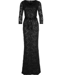 Young Couture by Barbara Schwarzer Robe longue schwarz