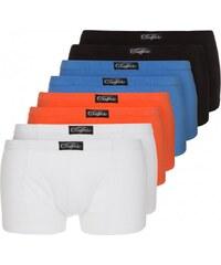 Buffalo 8 PACK Shorty schwarz/weiß/blau/orange