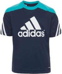 adidas Performance SERENO 14 Tshirt de sport new navy/super cyan/white