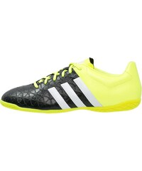 adidas Performance ACE 15.4 IN Chaussures de foot en salle core black/white/solar yellow