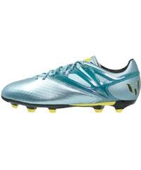 adidas Performance MESSI 15.1 FG/AG Chaussures de foot à crampons matt ice metallic/bright yellow/core black