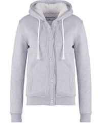 Cross Jeans Sweat zippé grey