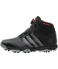 adidas Golf CLIMAHEAT BOA Chaussures de golf black/iron metallic/bold orange