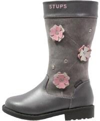 STUPS Bottes grey/rosa